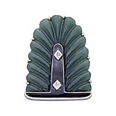 1940 Cartier Gold Leaf Clip