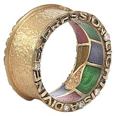 "Coomi 20K ""Light"" Band Ring"