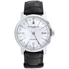 Baume & Mercier stainless steel Classima Automatic Wristwatch