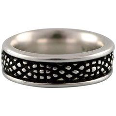 Georg Jensen Ring of Sterling Silver