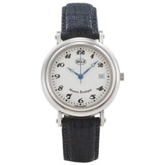 IGJ Stainless Steel Montre Erotique Mechanical Wristwatch, circa 1990s