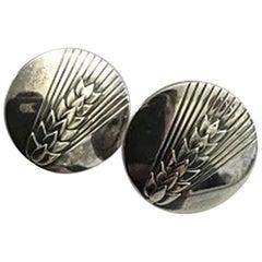 Georg Jensen Sterling Silver Earrings No 127B
