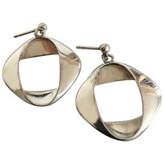 Georg Jensen Sterling Silver Henning Koppel Earrings No 190