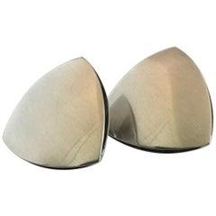 Georg Jensen Sterling Silver Earrings 'Clips' No 203B