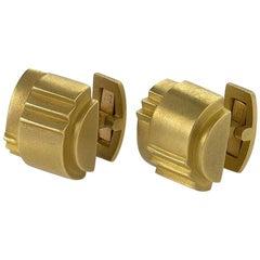 Barry Kieselstein-Cord 1980s Gold Cufflinks
