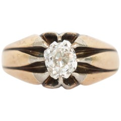 .50 Carat Yellow Gold Diamond Engagement Ring