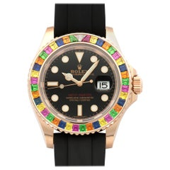 Rolex Rose Gold Yacht-Master Rainbow Watch Ref. 116695