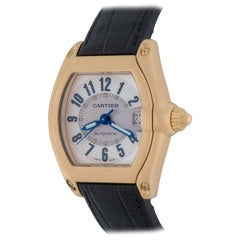 Cartier Yellow Gold Roadster Automatic Wristwatch Ref W62002Y2
