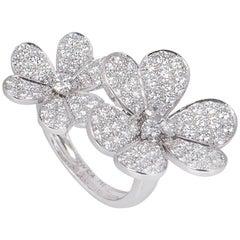 Van Cleef & Arpels  Diamond Flora Ring