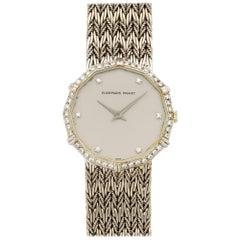 Audemars Piguet White Gold Diamond Manual Wristwatch, circa 1970s