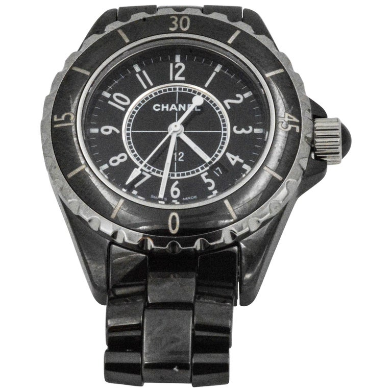 Chanel J12 Black Wristwatch