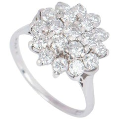 Graff Diamond Cluster Floral Ring