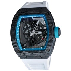 Richard Mille carbon fibre RM 055 Yas Marina Automatic Wristwatch