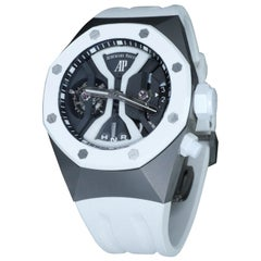 Audemars Piguet titanium Royal Oak Concept GMT Tourbillon Manual Wind Wristwatch