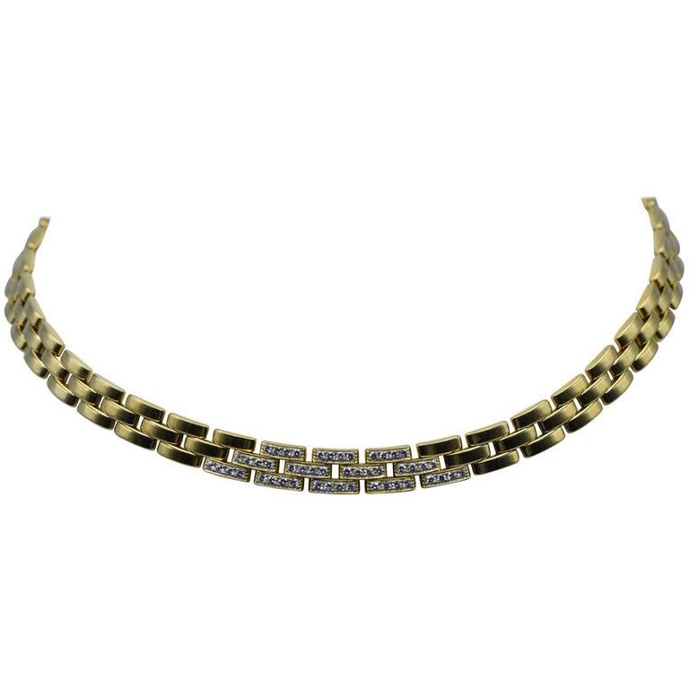 Cartier Panthere Diamond Necklace