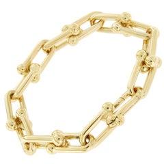 Tiffany & Co. 18 Karat Yellow Gold Hardwear Link Bracelet