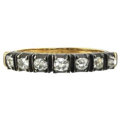 Vintage Two-Toned Half Band
