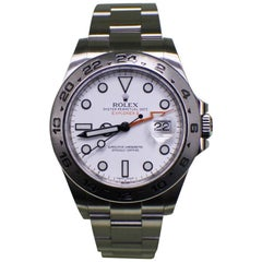 Rolex Explorer II 216570 Stainless Steel White Dial