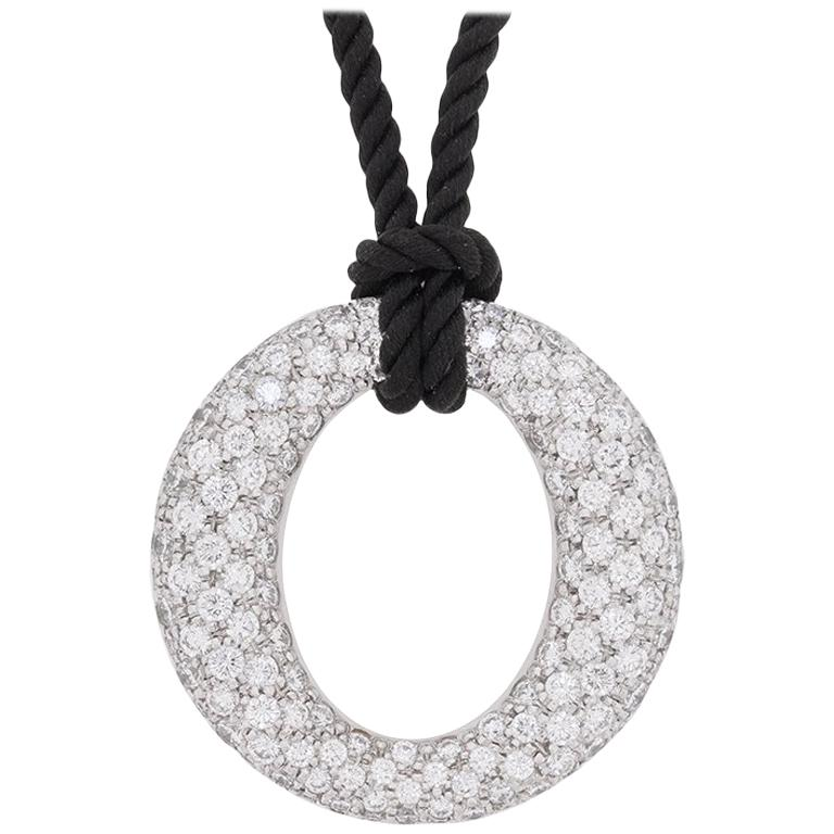 Tiffany & Co. Elsa Peretti Sevillan Diamond Pendant