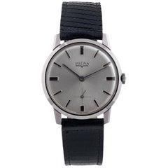 Vulcain stainless steel Vintage Slim Wristwatch, 1970s