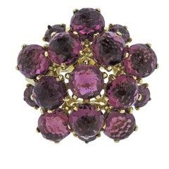 Ippolita Lollipop Pink Sapphire Tourmaline Gold Ring