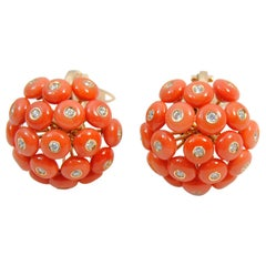 Chantecler Coral Earrings