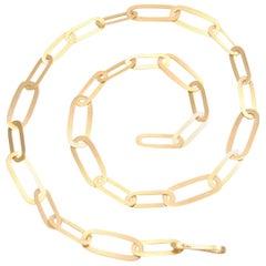 Pomellato Satin Gold Necklace