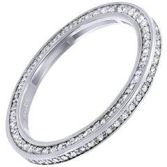 Alex Soldier Eternal Love Platinum Diamond Eternity Wedding Band