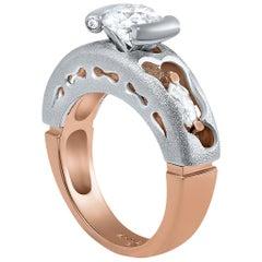 Alex Soldier Hidden Realms Diamond Valentine Gold Engagement Cocktail Ring