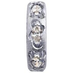 Alex Soldier Hidden Realms Diamond Platinum Valentine Wedding Band