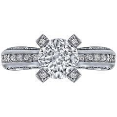 Alex Soldier Modern Sensuality Diamond Gold Engagement Wedding Cocktail Ring