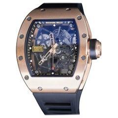 Richard Mille Red Gold RM 035 Toro Manual Wind Wristwatch