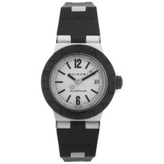Bulgari Aluminium Sport Rubber Strap Self-Winding Wristwatch