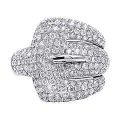 1.78 Carat Belt Diamond Ring