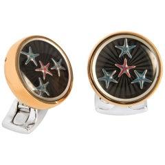 Deakin & Francis Dancing Starfish Cufflinks