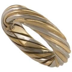 Van Cleef & Arpels Paris Twisted Gold Ring or Band