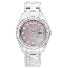 Rolex Platinum Masterpiece/Pearlmaster automatic Wristwatch Ref 18946