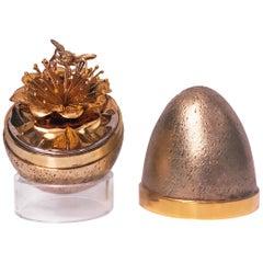 Stuart Devlin Honey Bee Egg, London, 1981