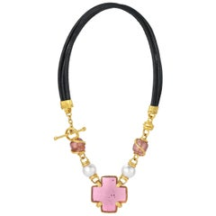 Denise Roberge Pink Tourmaline Necklace