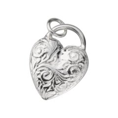 Monica Rich Kosann Cherish Engraved Heart Charm Only