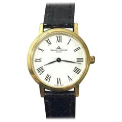 Baume and Mercier Ladies 18 Karat Yellow Gold Watch