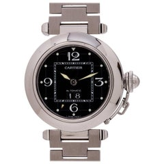 Cartier Stainless Steel Pasha C Big Date wristwatch, circa 2000s