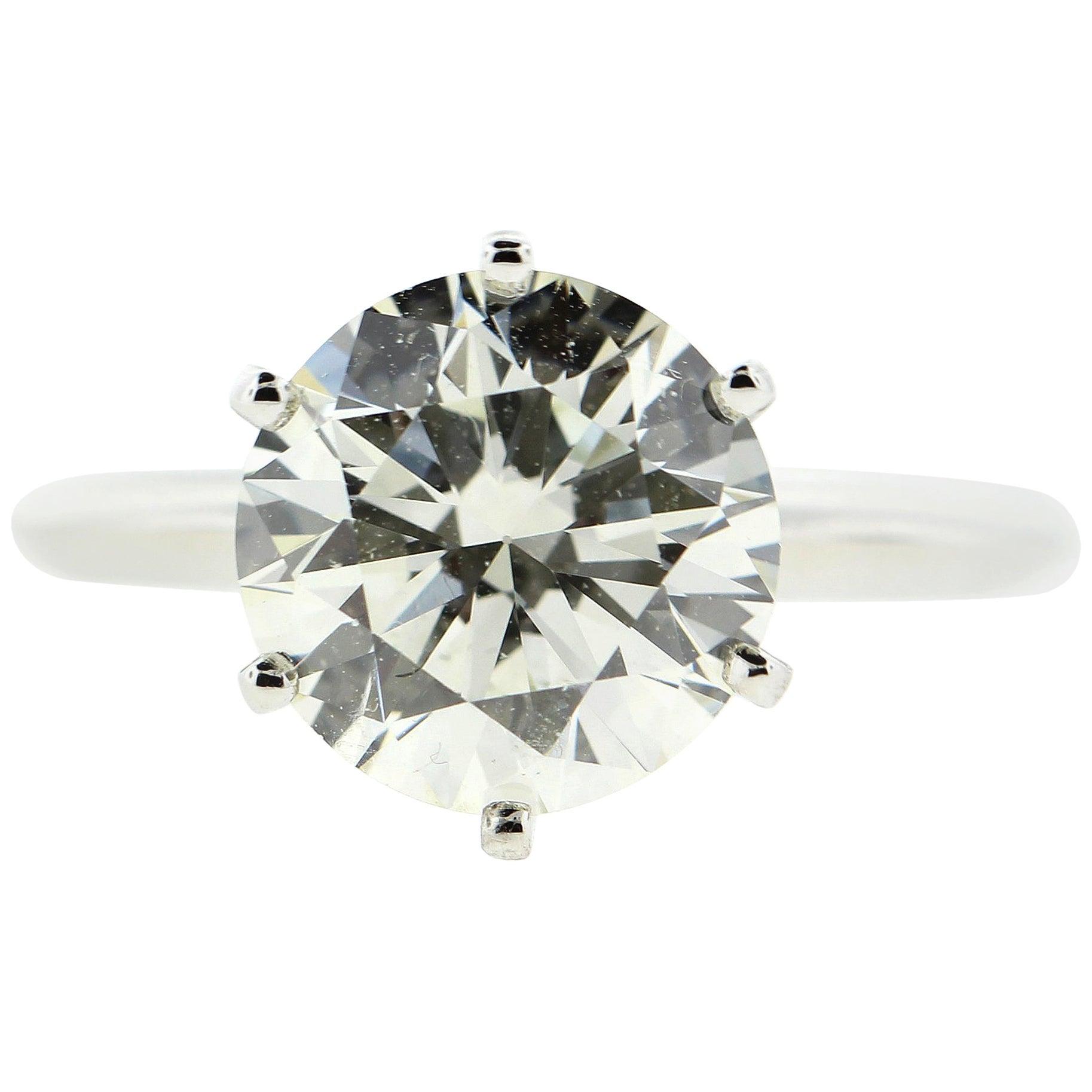 2.50 Carat Diamond Solitaire Engagement Ring 'GIA'
