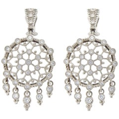 Judith Ripka Chandelier Earrings