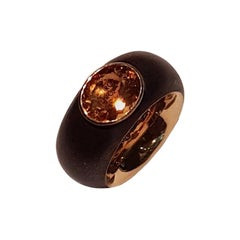 Isabelle Fa Citrine Bronze Gold Ring