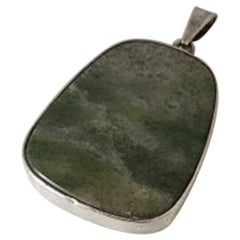 Per Sax Møller Pendent in Sterling Silver with Stone
