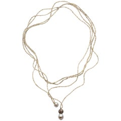 Sapphire Rope Necklaces