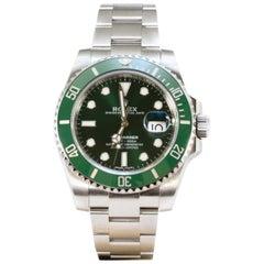 """Rolex Submariner """"Hulk"""" Wrist Watch"""