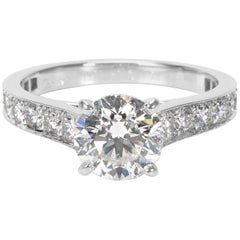 Cartier Diamond Engagement Ring in Platinum GIA Certified F VS1 2.00 Carat