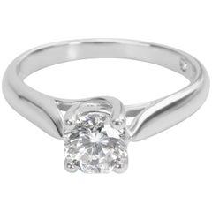 Zales Octillion Cut IGI Certified Diamond Engagement Platinum Ring E SI1 1.21ct